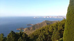 Samos - Landschaft am Weg zur Höhle