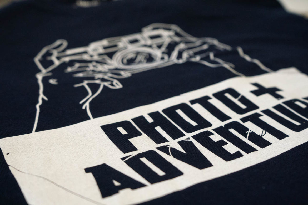 Here it comes: Photo+Adventure T-Shirt Kollektion - Photo+Adventure